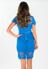 Electric Lace Derby Dress