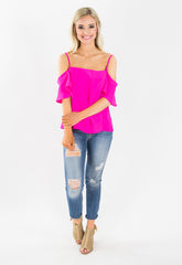 Kimmie Off Shoulder Top