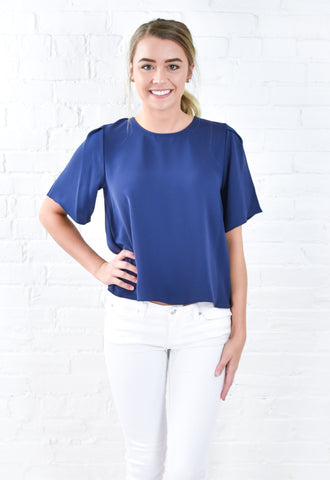 Savannah Mid Sleeve Top