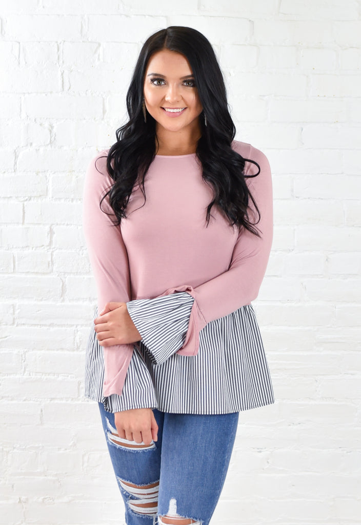 Posh Long Sleeve Top