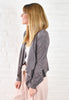 Monica Suede Drape Jacket