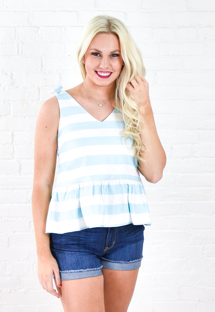 Kimberly Striped Top