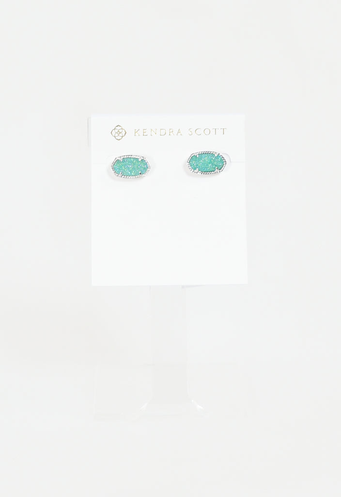 Ellie Earring by Kendra Scott - RHOD Teal Drusy