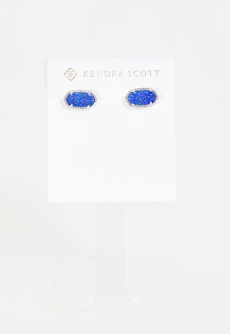 Ellie Earring by Kendra Scott - RHOD Cobalt Drusy