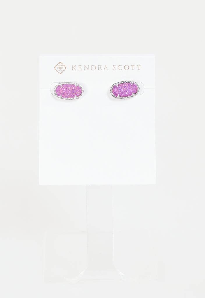 Ellie Earring by Kendra Scott - RHOD Violet Drusy