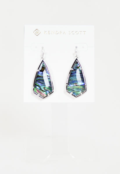 Carla Earrings by Kendra Scott - RHOD Abalone Shell