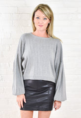 Nicole Balloon Sleeve Sweater