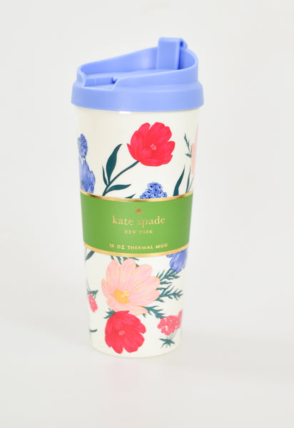 Floral Blossom Thermal Mug by Kate Spade
