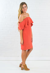 Rudy Cold Shoulder Dress
