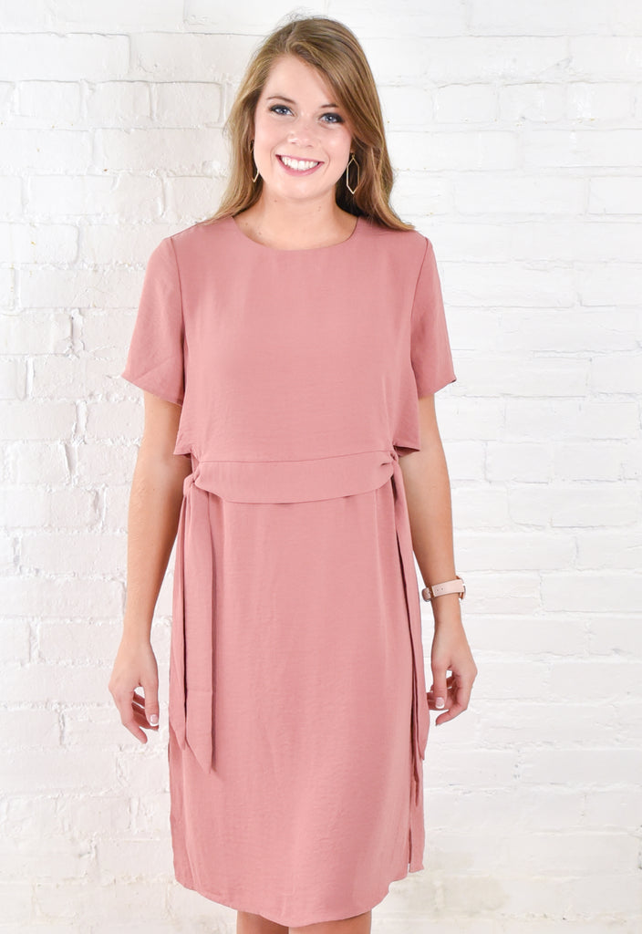 Heather Belted Dress