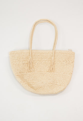 Headed to the Beach Bag - Ivory
