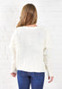 Hillary Sweater Jacket - White
