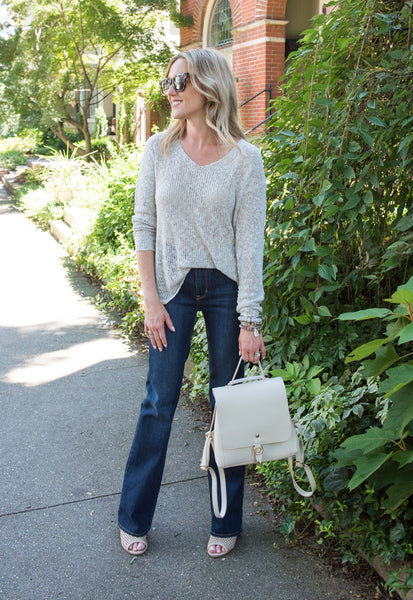 Mackenzie Basics Sweater - Ivory