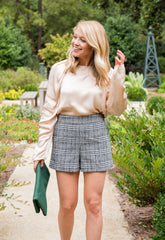 Genevieve Plaid Shorts