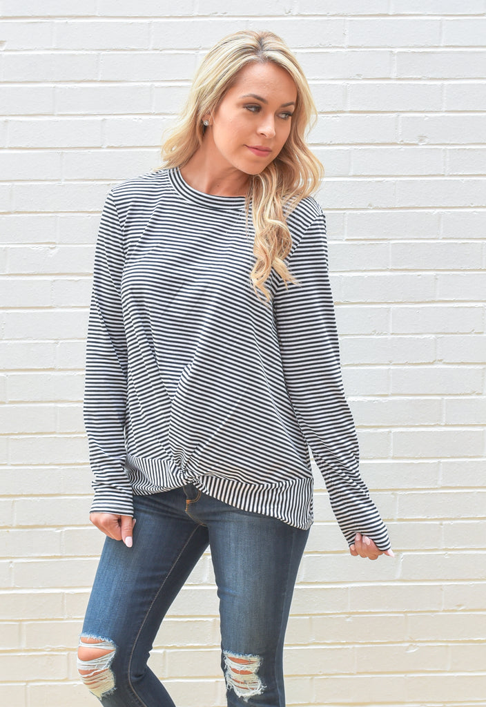 Madeline Twist Front Top