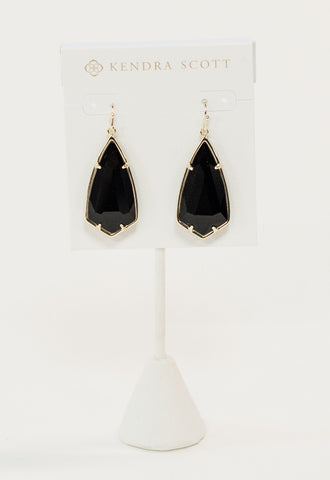 Carla Earrings by Kendra Scott - Black