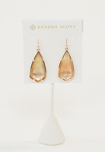 Carla Earrings by Kendra Scott - Rose Gold