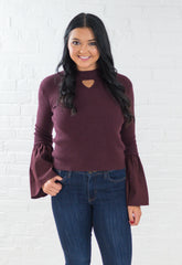 Betty Funnel Neck Sweater