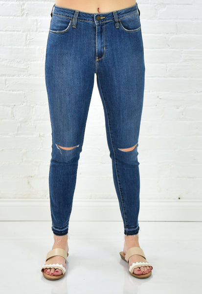 Veronica High Rise Released Hem Denim