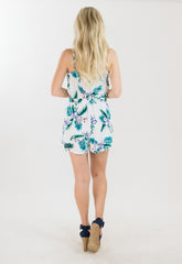 Coralia Floral Romper by Cupcakes and Cashmere