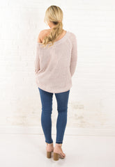 Tori Sweater - Nude