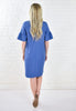 Lana Elbow Sleeve Length Shift Dress - Denim