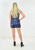 Navy UItra Glam Sequins Dress