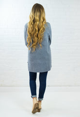Camilla Sweater Tunic - Gray