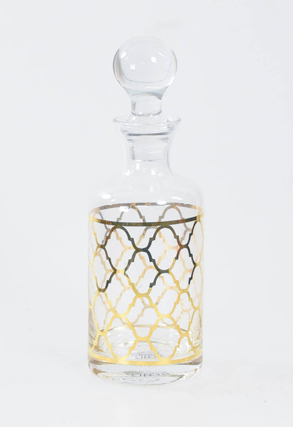 Manor Gold Decanter - Quadterfoil
