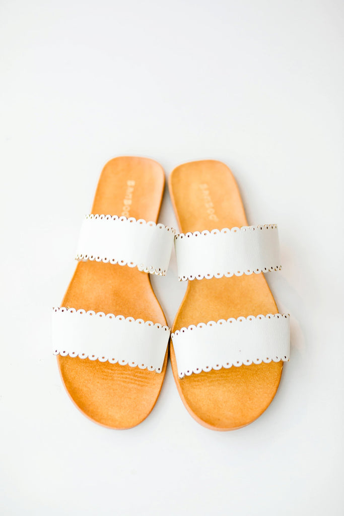 The Sycamore Eyelet Sandals