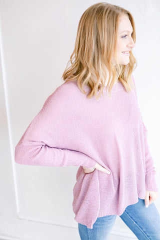 Rylee Sweater - Lt. Mauve