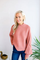 The Amandy Dolman Sleeve Sweater