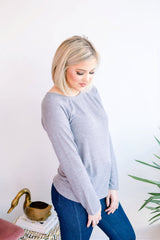 Heather Longsleeve Fitted Top