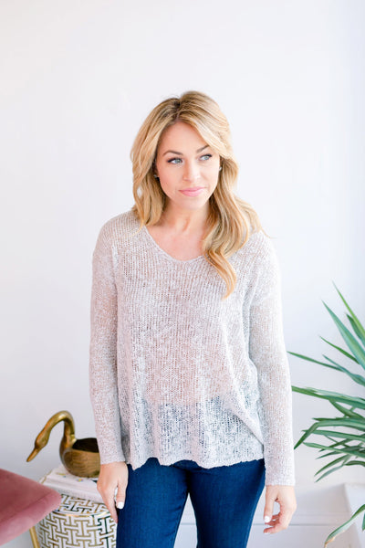 Mackenzie Basics Sweater - Grey