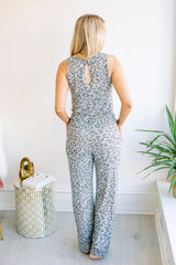 Miss You More Leopard Jumpsuit