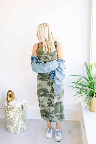 The Debbie Dress - Camo