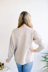 Basic Merino Wool Sweater - Camel