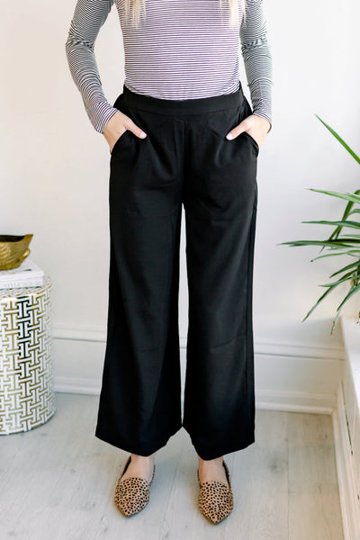 Around the Block Wide Leg Pants