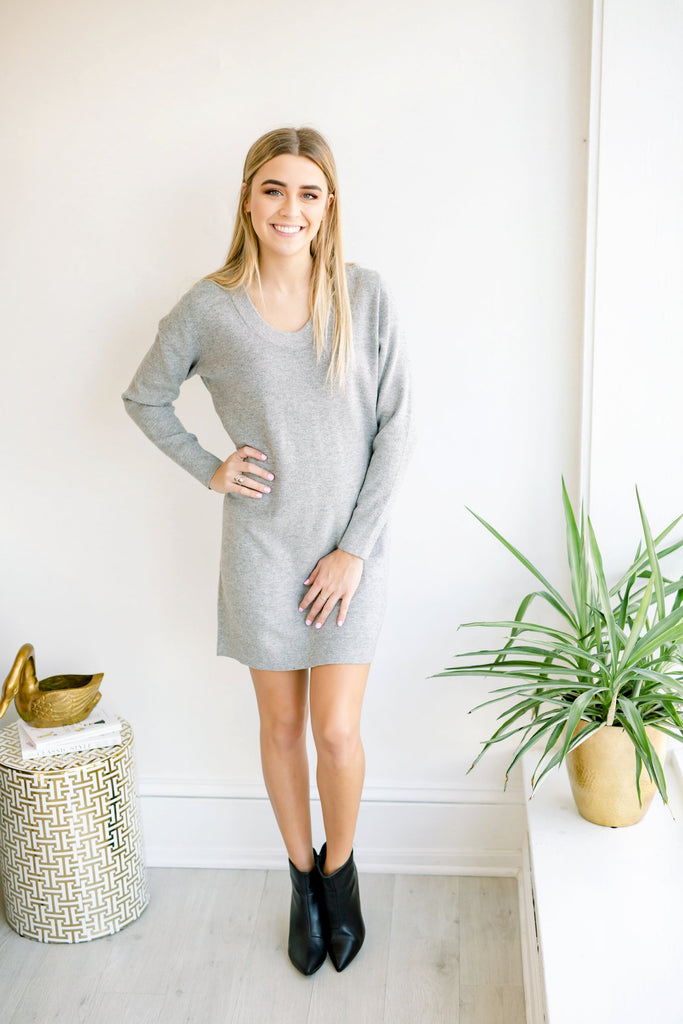 Plain Jane Sweater Dress