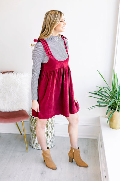 Double Standard Low Rounded Dress