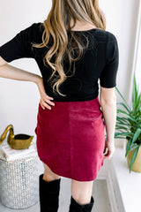Criss Cross Ruffle Skirt