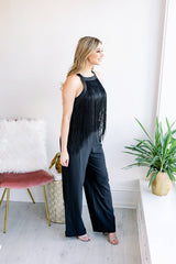 Fun and Fringy Jumpsuit