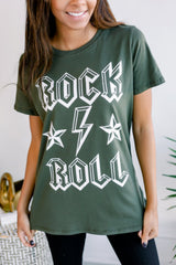 Rock and Roll Graphic Tee