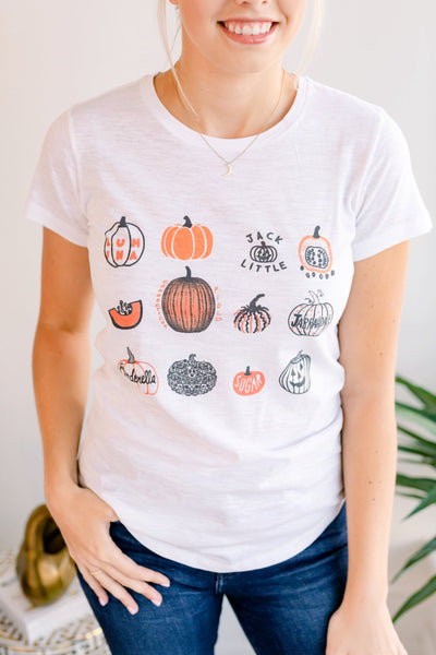 Small Pumpkins Fall Tshirt