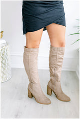 Saint Over the Knee Boots - Taupe
