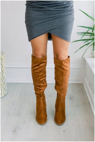Saint Over the Knee Boots - Tan