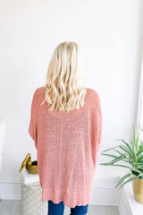Way of Life Oversized Sweater - Ginger