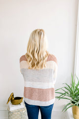 Knob Hill Striped Sweater