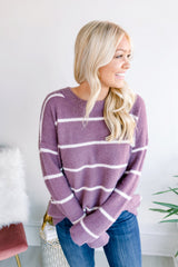 Through the Grapevine Stripe Sweater