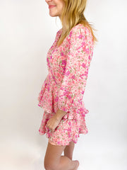 Pretty in Pink Long Sleeve Dress